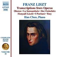 Liszt:Opera Transcriptions [Han Chen] [NAXOS: 8573415] by Han Chen