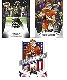 TREVOR LAWRENCE LEAF 3 CARD ROOKIE LOT SUPERSTAR QUARTERBACK #1 NFL PICK