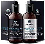 Psoriasis Shampoo und Conditioner Set - komplette Therapie für juckende Kopfhaut. Natürlicher...