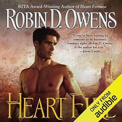 Heart Fire audiobook cover art
