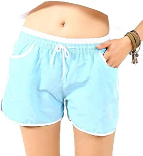Howely Women Casual Loose Sport Gym Yoga Elastic Waist Hot Active Hot Shorts