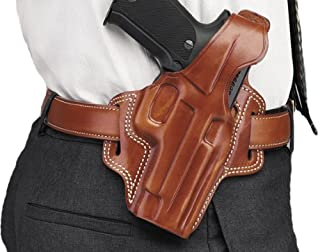 Galco Fletch High Ride Belt Holster for 1911 3-Inch Colt, Kimber, para, Springfield