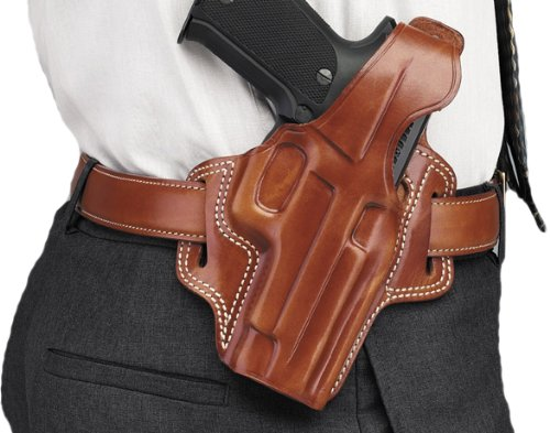 Galco Fletch High Ride Belt Holster for Walther PPK, PPKS (Tan, Right-Hand)