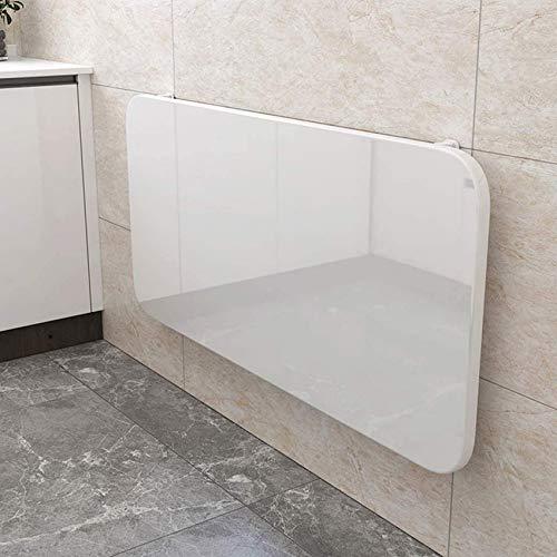 LJYY Estaciones de Trabajo de computadora Mesa Plegable de Hoja abatible montada en la Pared Mesa de Comedor y Cocina Escritorio de Estudio de computadora Plegable Flotante para Dormitorio, baño