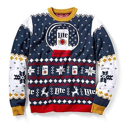 FOCO NFL New England Patriots (2018 Edition) Crew Neck Sweater, Medium, Team Color