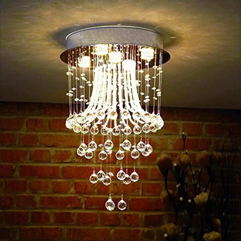Modern Modern Warm Studie Zimmer Kronleuchter Kristall LED ...