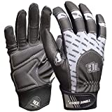 BIG TIME PRODUCTS LLC Extreme Work Gloves, Touchscreen Compatible, Black & Gray, Large