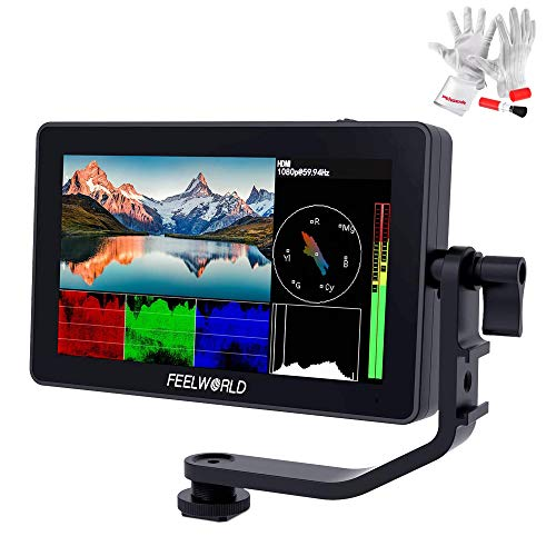 Feelworld F6 Plus 5.5inch Touchscreen IPS 1920X1080 4K HDMI Camera Monitor Brightness 500cd/m2 3D Lut Camera Video Field Monitor