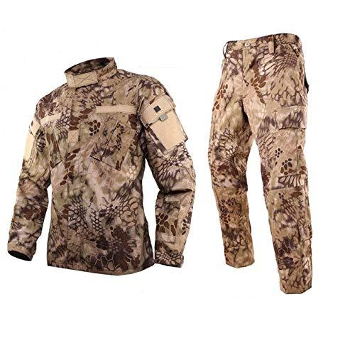 DLP Tactical BDU Combat Pants + Jacket Set 65/35 Poly/Cotton Rip Stop (HLD, XXL)