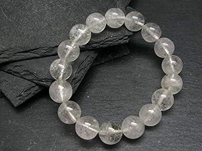 Goshenite Beryl Genuine Bracelet ~ 7 Inches ~ 12mm Round Beads