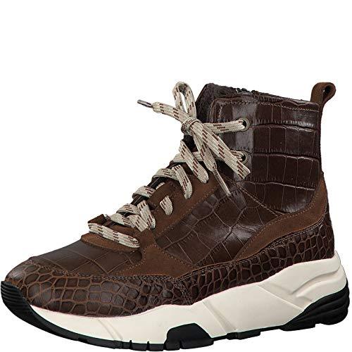 Tamaris Damen Stiefel 25867-33, Frauen Schnürstiefel, leger Boots kurz-Stiefel high top Sneaker...