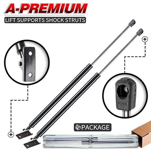 A-Premium Tailgate Liftgate Rear Hatch Lift Supports Shock Struts Replacement for Jeep Cherokee XJ 1997-2001 2-PC Set