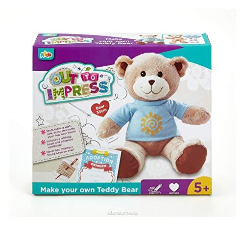 Addo – Out to Impress – Nähe deinen eigenen Teddybären – Kinder-Bastelset