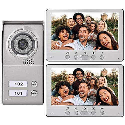Sistema de intercomunicación, videoportero, teléfono Visual a Prueba de explosiones, Todo el Metal Resistente a la Intemperie para el hogar(Australian regulations (110-240V), Transparency)