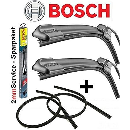 Bosch Aerotwin Ar609s 3397009776 Scheibenwischer Wischerblatt Wischblatt Flachbalkenwischer Scheibenwischerblatt 600 600 Set 2 X Ersatz Wischergummis Für Die Bosch Aero Serie 2mmservice Auto