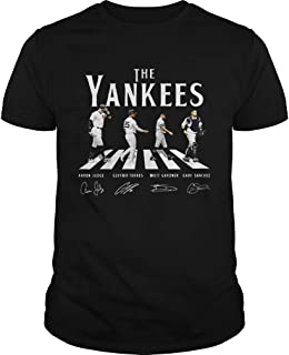 New Collection T shirt for Woman, Man anniversary Abbey Road The Yankees signature shirt