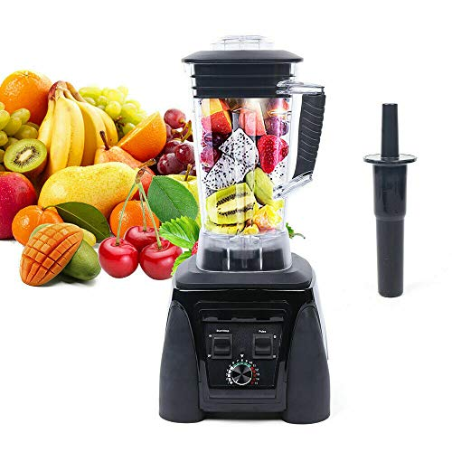 2L Professional Countertop Blender Mixer Juicer Drinks Smoothie Maker Ice Crusher Commercial...