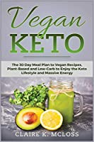 Vegan Keto: A Productivity Approach to Health and Burn Fat with the Keto Diet for Vegans; The 30 Day Meal Plan to Vegan Recipes, Plant- Based and Low-Carb to Enjoy the Keto Lifestyle and Massive Energy