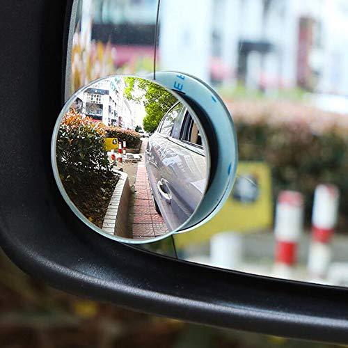 FDSEF Auto-Rückspiegel Borderless HD Convex Glass Weitwinkel Rückansicht Assisted Blind Spot Mirror Einstellbarer Winkel