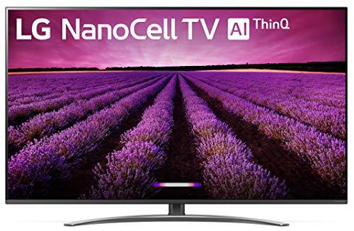 "LG 65SM8100AUA Alexa Built-in Nano 8 Series 65"" 4K Ultra HD Smart LED NanoCell TV (2019)"