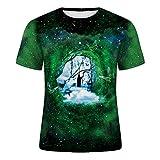 SSBZYES Camisetas para Hombre, Cuello Redondo, Manga Corta, Camisetas Estampadas para Hombre, Camisetas Sueltas De Verano De Talla Grande, Camisetas Casuales para Hombre
