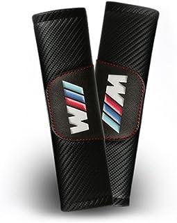 Tomsen Schulterpolster für Sicherheitsgurt, Karbonfaser, für M, 2 Stück