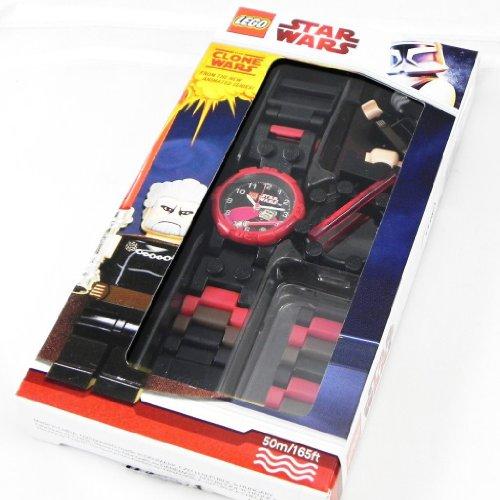 LEGO COUNT DOOKU - Reloj de pulsera con figura de Lego 'COUNT DOOKU'