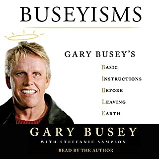 Buseyisms audiobook cover art