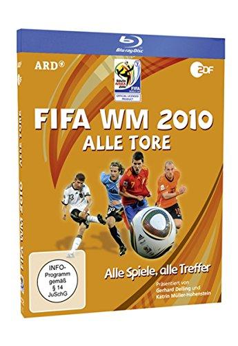 FIFA WM 2010 - Alle Tore (Blu-ray) [Alemania] [Blu-ray]