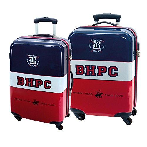 Beverly Hills Polo Club 5279551 Juego de Maletas, 35 litros, Multicolor