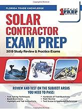 Florida Solar Contractor Exam Prep: 2019 Study Review & Practice Exams