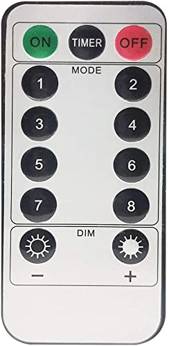 2021 Twinkle discount Star wholesale Remote Control with 13 Keys, Wireless Remote and Timer Function for Curtain String Light outlet online sale