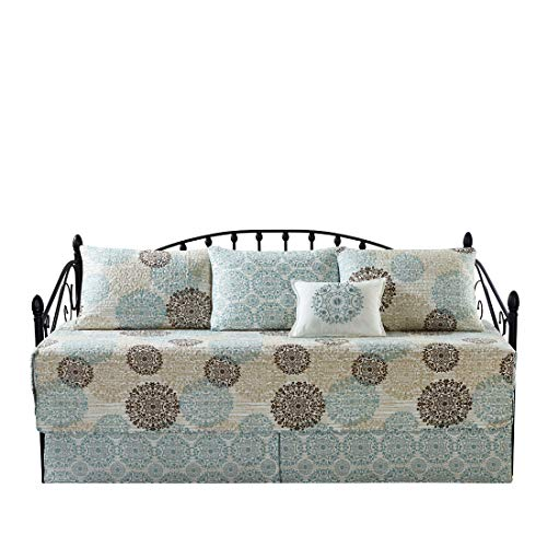 Home Soft Things Serenta Marina Mdln 6 Piece Quilted Daybed Set, 75' x 39'