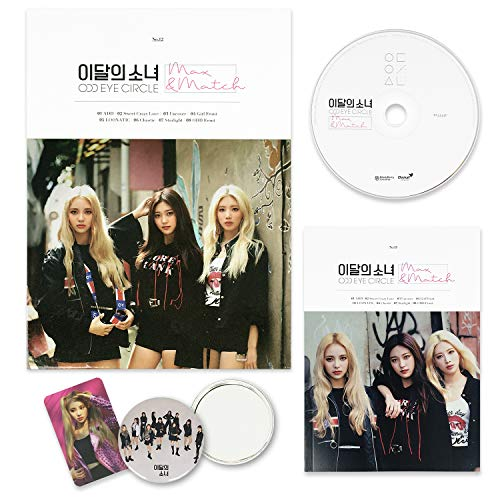 LOONA Montly Girl_Odd Eye Circle Album - [ MAX&MATCH Repackage / Normal ver. ] CD + Photobook + Photocard + FREE GIFT / K-POP Sealed