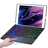 iPad 9.7 Keyboard Case With Trackpad For iPad 9.7(2018/2017)/iPad Air 2 & 1/iPad