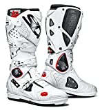 Sidi Crossfire 2 SRS Motorcycle Boots White White