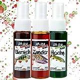 RYBA - Stinkbombe Amino - 3X Lockstoff Spray - Raubfisch Set - Hecht, Zander, Barsch
