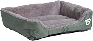 MHGStore Pet Sofa Dog Beds Waterproof Bottom Soft Fleece Warm Cat Bed House Petshop Cama Perro
