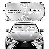 Mynew Car Windshield Sun Shade Cover for Lexus RX350 UX200 NX300 IS300 ES350 GS350 GX460 LX570 RC300 LC500 Auto Accessories Anti UV Sun Visor Protector