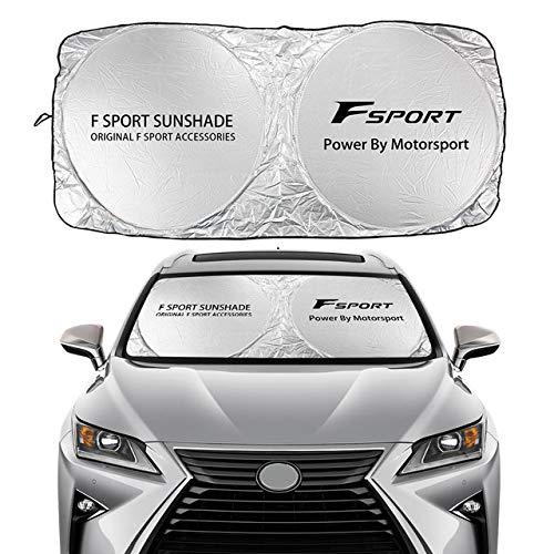 Mynew Car Windshield Sun Shade Cover for Lexus RX350 UX200 NX300 IS300 ES350 GS350 GX460 LX570 RC300...