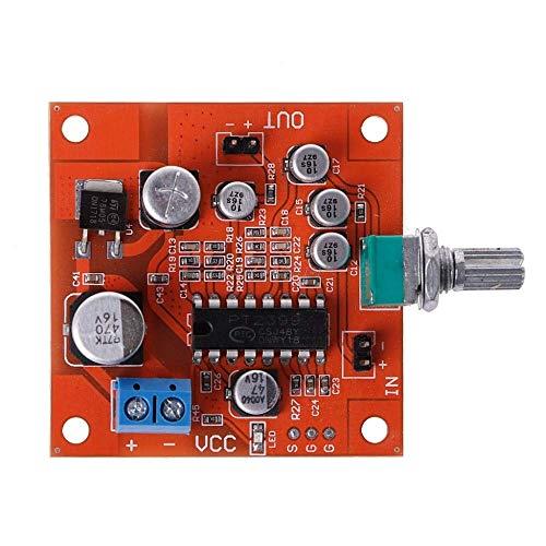 DollaTek PT2399 Micrófono ReverberationNoard DC 6-15V Efecto Super M65831 Preamplificador de micrófono