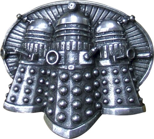 Doctor Who Dalek Boucle de ceinture en étain