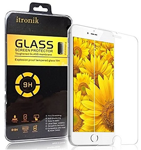 itronik® 9H Hartglas / Panzerglas für Apple iPhone 6 6S (4,7