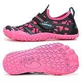 UBFEN Water Shoes for Kids Boys Girls Aqua Socks Barefoot Beach...