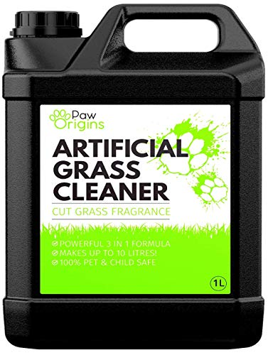 Artificial Grass Cleaner For Dogs & Pet Friendly 3 In 1 | Super Concentrate Makes 10 Litres! |...