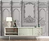 Tapete 3D Wandbild Weißes Leder Aus Geschnitztem Stoff Fototapete 3D Effekt Vliestapete Wohnzimmer Wanddeko