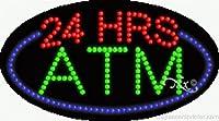 24Hrs ATM Flashing &アニメーションLEDサイン( High Impact、エネルギー効率的な)