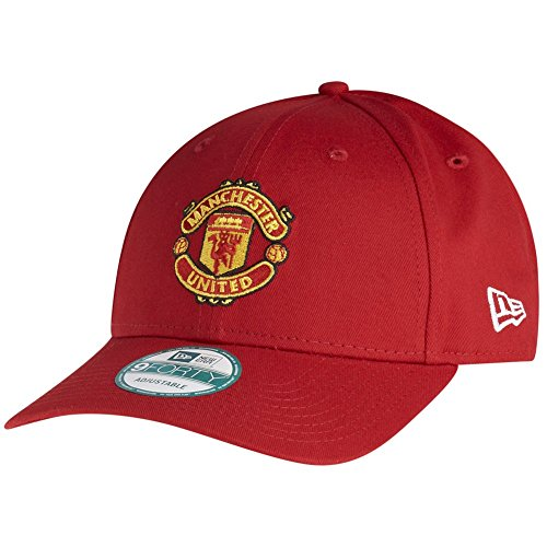 New Era Manchester United 9forty Adjustable Cap Mu25 Edition Red - One-Size