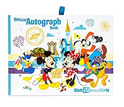 Disney World Essentials featured by top US family travel blog, Travel wit a Plan: image of a Disney autograph book for purchase