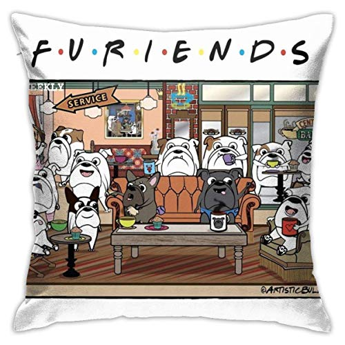 XCNGG Kissenbezug Furiends Bedroom Throw Pillow Covers Home Decorative Couch Sofa...